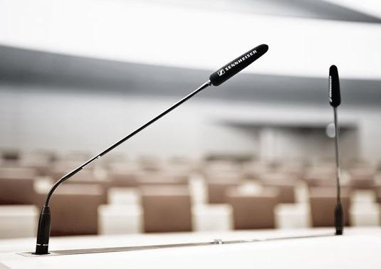 speechline wired sala meeting palco presentazione
