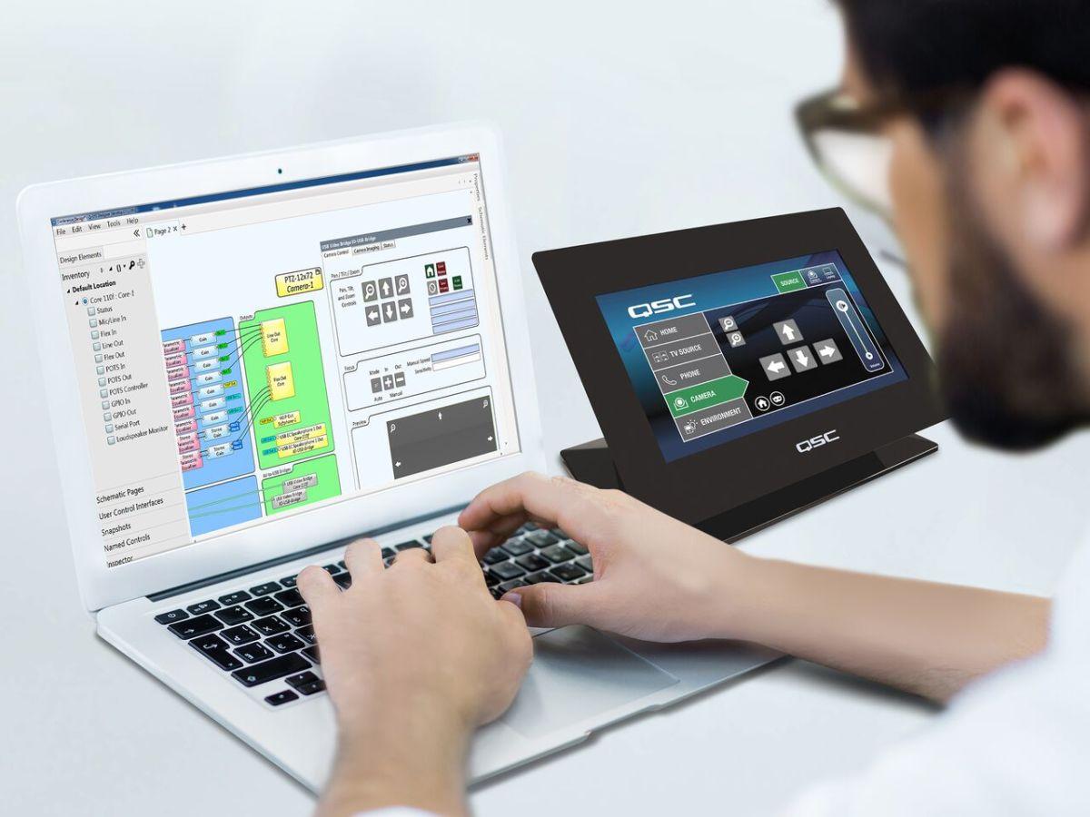 personalizzazione sistema qsc impianto