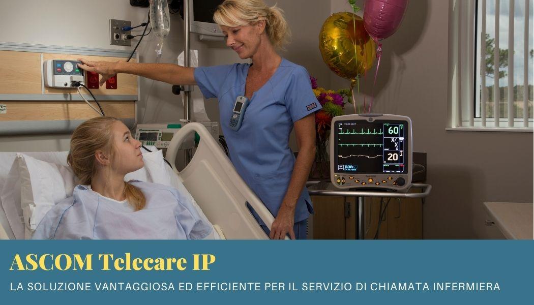 Chiamata infermiera Ascom: efficiente, economica e innovativa